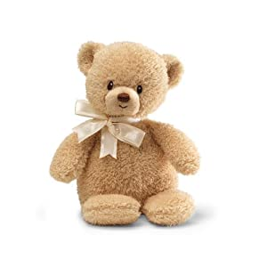 "Gund Teddi TanBear with Chime 9"" Plush"