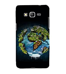 printtech Nature Planet Back Case Cover for Samsung Galaxy Grand Prime G530h
