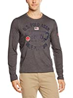 U.S.POLO ASSN. Camiseta Manga Larga (Barro)
