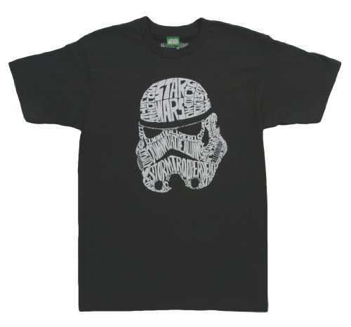 Mighty Fine Star Wars Code of the Trooper T-Shirt Black