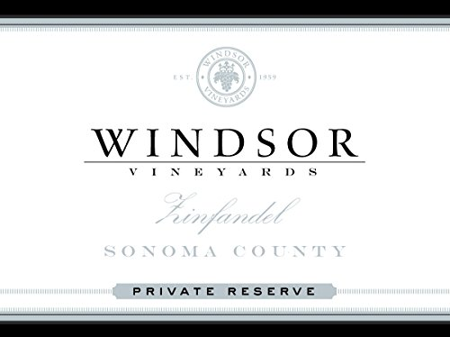 2011 Windsor Zinfandel, Sonoma County, Private Reserve, 750Ml