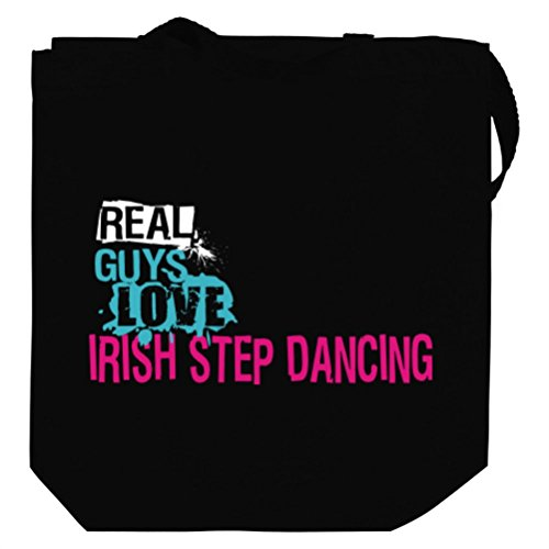 Real guys love Irish Step Dance Canvas Tote Bag