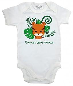 Dirty Fingers, Soy un tigre feroz, Bebés Body por Dirty Fingers