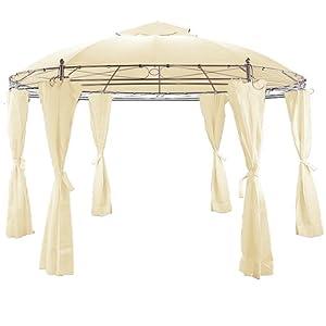 pavillon toscana beige 3 5 m. Black Bedroom Furniture Sets. Home Design Ideas