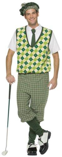 Adult Men's Old Time Golfer Halloween Costume