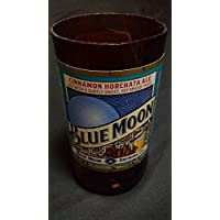 Repurposed Blue Moon Cinnamon Horchata Beer Bottle Soy Candle You Choose Color & Fragrance!