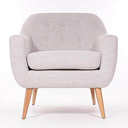 Duke Armchair Tub Chair Light Grey Premium Quality