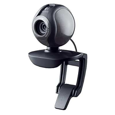 Logitech 960-000395 Webcam (Black)
