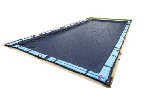 Blue Wave Bronze 8-Year 18-ft x 36-ft Rectangular In Ground Pool Winter Cover (Pool Covers Inground 18 X 36 compare prices)