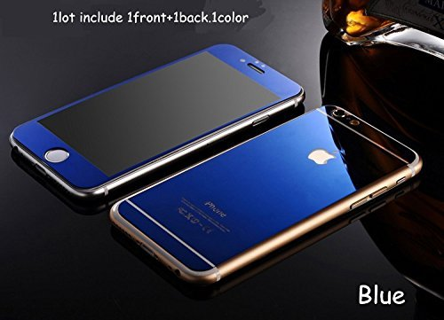 Zocardo Mirror Front Back Tempered Glass Screen Protector For Apple iPhone 6  Plus   6S Plus 77bc8629109f