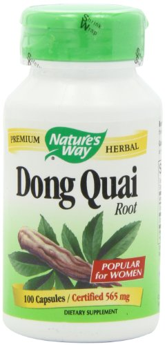 Nature's Way Dong Quai Root, 565mg, 100 Capsules