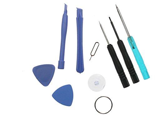 iPhone 4 / 4S Werkzeug Set 9 Teilig 9in1 Megaset Öffnungswerkzeug mit Pentalobe-Schraubendreher f. iPhone 3 3GS / 4 4S / iPad / iPod / iTouch Werkzeugsset Neu