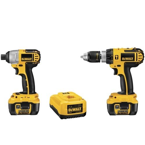 DEWALT DCK274L 18-Volt Cordless Hammerdrill/Impact Driver Combo Kit with XRP Li-Ion Battery Packs