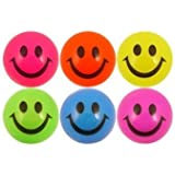 Light Up Smiley Ball (Colors may vary)