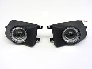 97-00 BMW E39 5 Series 528i 540i Projector Halo Fog Lights Kit 98 99 Lamp Bulbs White
