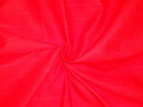 cotton-organdy-fabric-leno-checks-design-44-vodafone-red-hobbieshome-decorsewingfashiondoll-dressfur