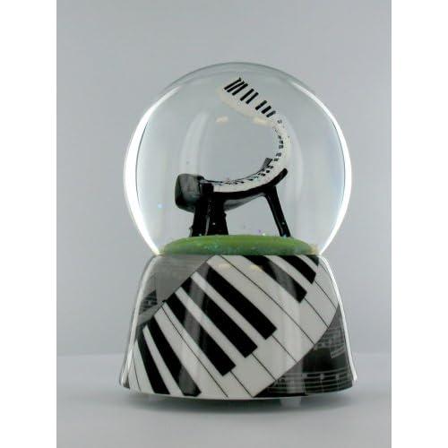 Amazon.com - Jazz Piano Muaic Snow Globe Water Ball -