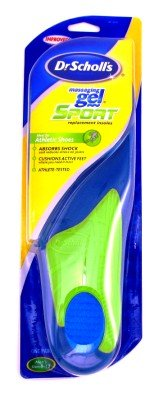 Dr. Scholl's Insoles Massaging Gel Sport Men's 8-13 (Case of 6)