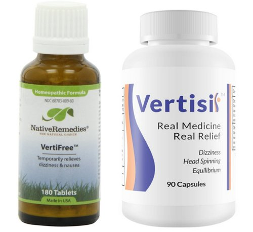 Native Remedies Vertifree To Temporarily Relieves, Dizziness & Nausea (180 Tablets) And All Natural Formulation - Eradicate Vertigo With Vertisil (60Caps) Combo