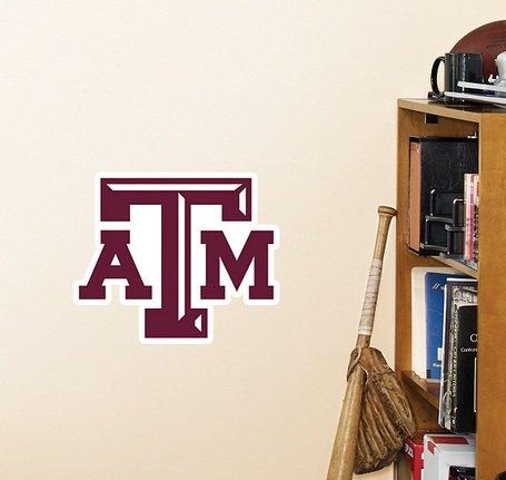 NCAA Texas A&M Aggies Teammate Logo Fathead (Texas Precision Products Llc compare prices)