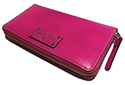Kate Spade Wellesley Neda Bougainvillea Pink Clutch Wallet WLRU1153