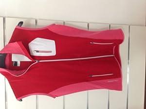 Icebreaker atom vest red/pink w S