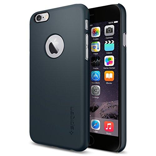 iPhone 6 ケース Spigen Apple iphone 4.7 (2014) シン・フィットA (国内正規品) (メタル・スレート 【SGP10941】)