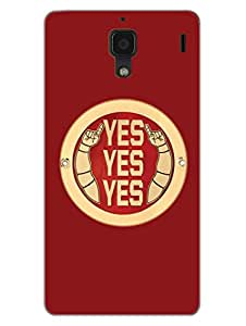 RedMi 1S Back Cover - Daniel Bryan - Yes Yes Yes - For Daniel Bryan Fans - Designer Printed Hard Shell Case
