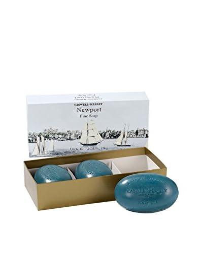 Caswell-Massey Newport Bath Soap 3-Piece Set