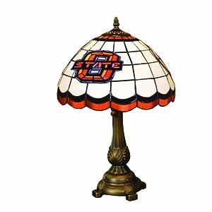 NCAA Oklahoma State Cowboys Tiffany Table Lamp