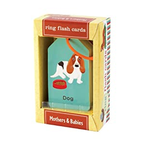 Mudpuppy Mothers And Babies Flash Cards Multi