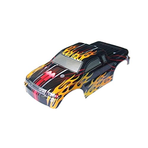 Redcat Racing Truck Body for Sumo RC, Black/Red