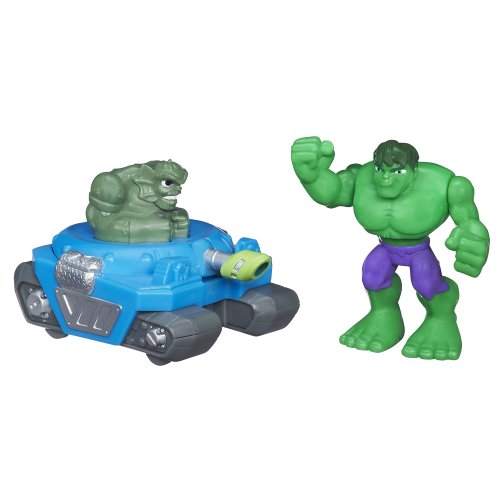 Playskool Heroes Super Hero Adventures Mini Masters Hulk - 1