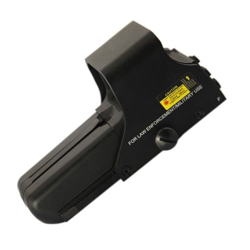 552 Holographic Sight Red Green Point Visier / Dot Sight Scope, 10 Levels Brightness, 30x22mm Objective Lens Dia