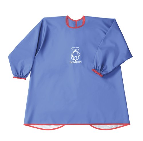BABYBJORN Eat & Play Smock - Blue