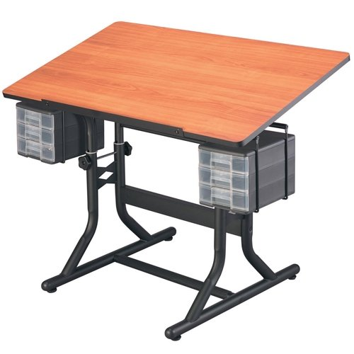 Alvin CraftMaster Art Hobby Table - Cherry