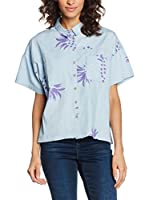 Pepa loves Camisa Mujer Pineapple (Denim)