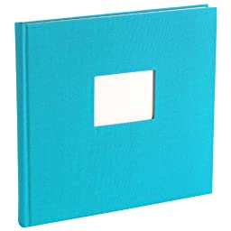 Eternity Guestbook unlined turquoise +++ 120 sheets hand made paper +++ GUESTBOOK for \'\'eternal\