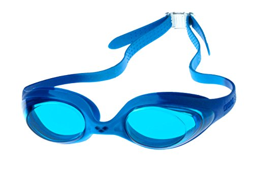 Arena Kinder Schwimmbrille Spider, blue-l.blue-blue