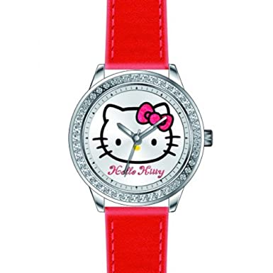 Hello Kitty Quartz Analogue 4400903 Girls Watch<br><br>