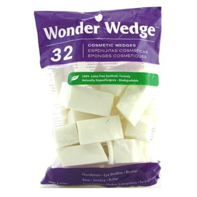 Wonder Wedge Cosmetic Wedge 32 Count (2 Pack) at Gotham City Store