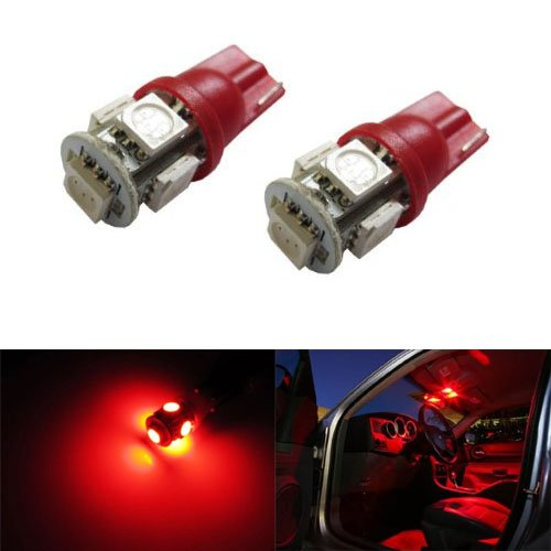 2 replace dome light bulbs red led car interior map aftermarket auto change new ebay. Black Bedroom Furniture Sets. Home Design Ideas