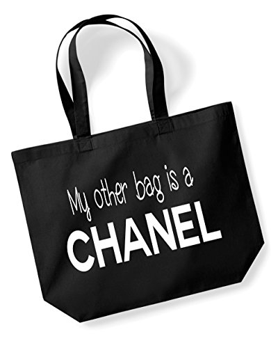 my-other-bag-is-a-chanel-funny-gift-black-bag-cotton-shopping-bag-c