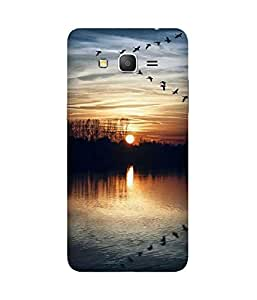 Sunset With Birds Samsung Galaxy Grand Prime Case