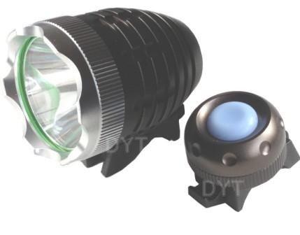 【Yjb】最大1200ルーメン CREE XML-T6 3段階調整 防水 LED充電式自転車ライト・ヘッドライト 《スイッチ独立タイプ》 光量安定型