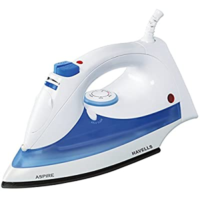 Havells Aspire 1250-Watt Steam Iron (Blue)