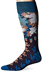 per pedes Men's Protect Your Nuts Socks, Navy, One Size