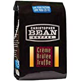 Christopher Bean Coffee Flavored Whole Bean Coffee, Creme Brulee Truffle, 12 Ounce