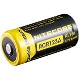 Nitecore RCR123A Battery (3.7v 2.4WH) IC Protected