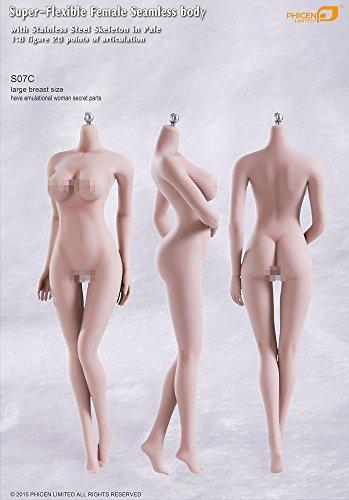 ファイセン・リミテッド 1/6スケール 超柔軟性シームレス女性素体 ペールスキン バストサイズL(S07C)